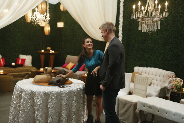 "<div class=""meta ""><span class=""caption-text "">THE BACHELOR: SEAN AND CATHERINE'S WEDDING - Sean Lowe and Catherine Giudici, the latest to join other ""Bachelor"" couples who have walked down the aisle, will share a dramatic new chapter of their love story with millions of viewers and Bachelor Nation when ABC televises their much anticipated wedding - live, on ""The Bachelor: Sean and Catherine's Wedding,"" SUNDAY, JANUARY 26, 2014 (8:00-10:00 p.m., ET), on the ABC Television Network. This will mark the first time ever a ""Bachelor"" wedding has been telecast live. (ABC/Greg Zabilski) CATHERINE GIUDICI, SEAN LOWE (ABC Photo/ Greg Zabilski)</span></div>"