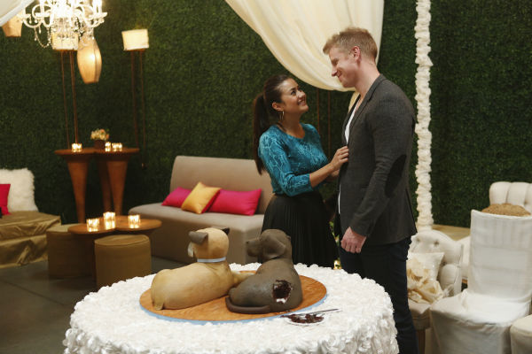 "<div class=""meta image-caption""><div class=""origin-logo origin-image ""><span></span></div><span class=""caption-text"">THE BACHELOR: SEAN AND CATHERINE'S WEDDING - Sean Lowe and Catherine Giudici, the latest to join other ""Bachelor"" couples who have walked down the aisle, will share a dramatic new chapter of their love story with millions of viewers and Bachelor Nation when ABC televises their much anticipated wedding - live, on ""The Bachelor: Sean and Catherine's Wedding,"" SUNDAY, JANUARY 26, 2014 (8:00-10:00 p.m., ET), on the ABC Television Network. This will mark the first time ever a ""Bachelor"" wedding has been telecast live. (ABC/Greg Zabilski) CATHERINE GIUDICI, SEAN LOWE (Photo/Greg Zabilski)</span></div>"