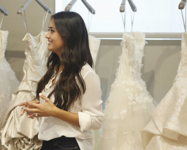 "<div class=""meta ""><span class=""caption-text "">THE BACHELOR: SEAN AND CATHERINE'S WEDDING - Sean Lowe and Catherine Giudici, the latest to join other ""Bachelor"" couples who have walked down the aisle, will share a dramatic new chapter of their love story with millions of viewers and Bachelor Nation when ABC televises their much anticipated wedding - live, on ""The Bachelor: Sean and Catherine's Wedding,"" SUNDAY, JANUARY 26, 2014 (8:00-10:00 p.m., ET), on the ABC Television Network. This will mark the first time ever a ""Bachelor"" wedding has been telecast live. (ABC/Greg Zabilski) CATHERINE GIUDICI (ABC Photo/ Greg Zabilski)</span></div>"