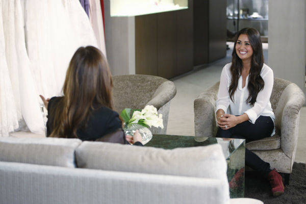 "<div class=""meta ""><span class=""caption-text "">THE BACHELOR: SEAN AND CATHERINE'S WEDDING - Sean Lowe and Catherine Giudici, the latest to join other ""Bachelor"" couples who have walked down the aisle, will share a dramatic new chapter of their love story with millions of viewers and Bachelor Nation when ABC televises their much anticipated wedding - live, on ""The Bachelor: Sean and Catherine's Wedding,"" SUNDAY, JANUARY 26, 2014 (8:00-10:00 p.m., ET), on the ABC Television Network. This will mark the first time ever a ""Bachelor"" wedding has been telecast live. (ABC/Greg Zabilski) MONIQUE LHUILLIER, CATHERINE GIUDICI (ABC Photo/ Greg Zabilski)</span></div>"