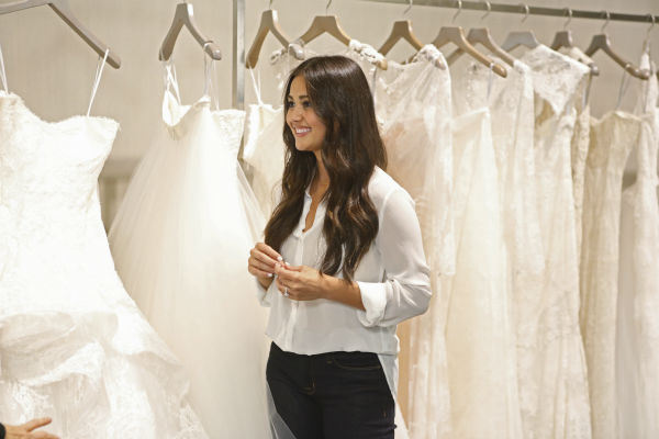 "<div class=""meta image-caption""><div class=""origin-logo origin-image ""><span></span></div><span class=""caption-text"">THE BACHELOR: SEAN AND CATHERINE'S WEDDING - Sean Lowe and Catherine Giudici, the latest to join other ""Bachelor"" couples who have walked down the aisle, will share a dramatic new chapter of their love story with millions of viewers and Bachelor Nation when ABC televises their much anticipated wedding - live, on ""The Bachelor: Sean and Catherine's Wedding,"" SUNDAY, JANUARY 26, 2014 (8:00-10:00 p.m., ET), on the ABC Television Network. This will mark the first time ever a ""Bachelor"" wedding has been telecast live. (ABC/Greg Zabilski) CATHERINE GIUDICI (Photo/Greg Zabilski)</span></div>"