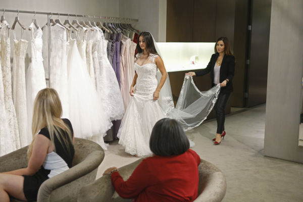 "<div class=""meta ""><span class=""caption-text "">THE BACHELOR: SEAN AND CATHERINE'S WEDDING - Sean Lowe and Catherine Giudici, the latest to join other ""Bachelor"" couples who have walked down the aisle, will share a dramatic new chapter of their love story with millions of viewers and Bachelor Nation when ABC televises their much anticipated wedding - live, on ""The Bachelor: Sean and Catherine's Wedding,"" SUNDAY, JANUARY 26, 2014 (8:00-10:00 p.m., ET), on the ABC Television Network. This will mark the first time ever a ""Bachelor"" wedding has been telecast live. (ABC/Greg Zabilski) CHRISTA OSHER, CATHERINE GIUDICI, CYNTHIA MEJIA-GIUDICI, MONIQUE LHUILLIER (ABC Photo/ Greg Zabilski)</span></div>"