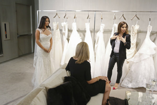 "<div class=""meta image-caption""><div class=""origin-logo origin-image ""><span></span></div><span class=""caption-text"">THE BACHELOR: SEAN AND CATHERINE'S WEDDING - Sean Lowe and Catherine Giudici, the latest to join other ""Bachelor"" couples who have walked down the aisle, will share a dramatic new chapter of their love story with millions of viewers and Bachelor Nation when ABC televises their much anticipated wedding - live, on ""The Bachelor: Sean and Catherine's Wedding,"" SUNDAY, JANUARY 26, 2014 (8:00-10:00 p.m., ET), on the ABC Television Network. This will mark the first time ever a ""Bachelor"" wedding has been telecast live. (ABC/Greg Zabilski) CATHERINE GIUDICI, SHERRY LOWE, MONIQUE LHUILLIER (ABC Photo/ Greg Zabilski)</span></div>"