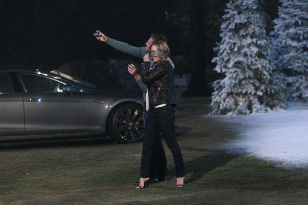 "<div class=""meta image-caption""><div class=""origin-logo origin-image ""><span></span></div><span class=""caption-text"">THE BACHELOR - ""Episode 1802"" - Juan Pablo, who likes to call himself ""El Bachelor,"" flirtatiously blindfolds Clare and proceeds to drive her to a secret location on the outskirts of Los Angeles. To her amazement, she discovers that a snow-covered fantasy has been created for them right in the middle of balmy Los Angeles. The couple spends a magical evening sledding down mountains, building snowmen and ice skating on a private rink. The Bachelor uncovers an emotional side to Clare as she recounts the heart-wrenching story of her father's death and how it has impacted her and her ability to open her heart to love. Later, the couple shares passionate kisses as they dance the night away while being serenaded in a private concert by singer-songwriter Josh Krajcik. But will all of this be enough for Juan Pablo to offer Clare a rose or will she be sent home? - on ""The Bachelor,"" MONDAY, JANUARY 13 (8:00-10:01 p.m., ET), on the ABC Television Network. (ABC/Rick Rowell) JUAN PABLO GALAVIS, CLARE (Photo/Rick Rowell)</span></div>"