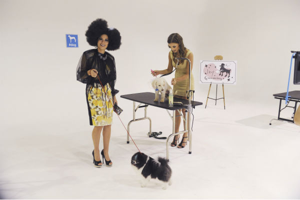 "<div class=""meta image-caption""><div class=""origin-logo origin-image ""><span></span></div><span class=""caption-text"">THE BACHELOR - ""Episode 1802"" - Thirteen women meet up with the handsome single dad for a photo shoot benefitting Best Friends Animal Society, an organization that focuses on the plight of animals in need. Each bachelorette is assigned a dog and takes a photo with the pup and Juan Pablo. However, when several revealing costumes are unveiled, two women go into an emotional tailspin and have second thoughts about whether they should continue with the shoot. Lucy rushes to the aid of one of her struggling counterparts by offering to go ""au natural."" But at that evening's after party, one woman steals the spotlight when she has a meltdown over not getting one-on-one time with Juan Pablo and derails the night. Will Juan Pablo forgive this bachelorette and chalk up the outburst to nerves or will this be the end of the line for her? - on ""The Bachelor,"" MONDAY, JANUARY 13 (8:00-10:01 p.m., ET), on the ABC Television Network. (ABC/Todd Wawrychuk) CHELSIE, CASSANDRA (ABC Photo/ Todd Wawrychuk)</span></div>"