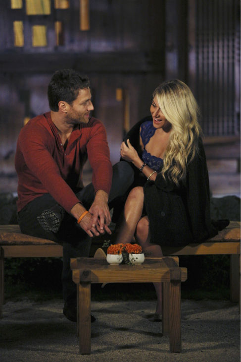 THE BACHELOR - &#34;Episode 1804&#34; - &#34;K-Pop&#34; superstars &#34;2NE1&#34; put Juan Pablo and six of the women through their paces, teaching them a choreographed routine to one of their chart-topping hits. Kat steals the spotlight with her professional dance moves, while Nikki struggles to keep up and fit in. Then the group drops a bombshell -- Juan Pablo and the six beautiful women will perform as background dancers during a concert in front of a live audience. Kat has no problem showing off her expertise and making sure Juan Pablo knows it. Nikki has a serious case of stage fright she must conquer if she is to continue. At the after party, one woman makes it quite clear she is not a fan of group dates and wants Juan Pablo all to herself, on &#34;The Bachelor,&#34; MONDAY, JANUARY 27 &#40;8:00-10:01 p.m., ET&#41;, on the ABC Television Network. &#40;ABC&#47;Christopher Jue&#41; JUAN PABLO GALAVIS, ELISE <span class=meta>(Photo&#47;Christopher Jue)</span>