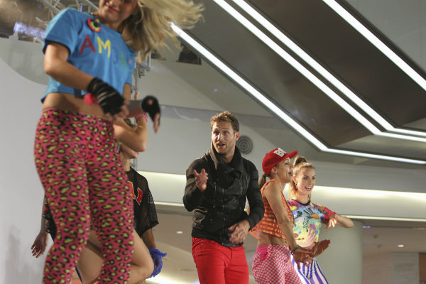THE BACHELOR - &#34;Episode 1804&#34; - &#34;K-Pop&#34; superstars &#34;2NE1&#34; put Juan Pablo and six of the women through their paces, teaching them a choreographed routine to one of their chart-topping hits. Kat steals the spotlight with her professional dance moves, while Nikki struggles to keep up and fit in. Then the group drops a bombshell -- Juan Pablo and the six beautiful women will perform as background dancers during a concert in front of a live audience. Kat has no problem showing off her expertise and making sure Juan Pablo knows it. Nikki has a serious case of stage fright she must conquer if she is to continue. At the after party, one woman makes it quite clear she is not a fan of group dates and wants Juan Pablo all to herself, on &#34;The Bachelor,&#34; MONDAY, JANUARY 27 &#40;8:00-10:01 p.m., ET&#41;, on the ABC Television Network. &#40;ABC&#47;Christopher Jue&#41; JUAN PABLO GALAVIS, KAT, CASSANDRA <span class=meta>(Photo&#47;Christopher Jue)</span>