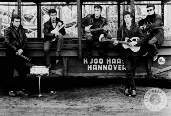 The Beatles <span class=meta>(Photo by Astrid Kirchherr Courtesy of Rock Paper Photo)</span>