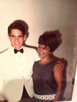 "Eyewitness News anchor Bill Ritter and his mother. ""My best friend. And I miss her so much. I so wish she had seen her grandkids. They have her humor, and her heart."""
