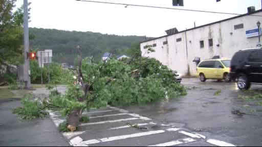Storms cause damage throughout New York area