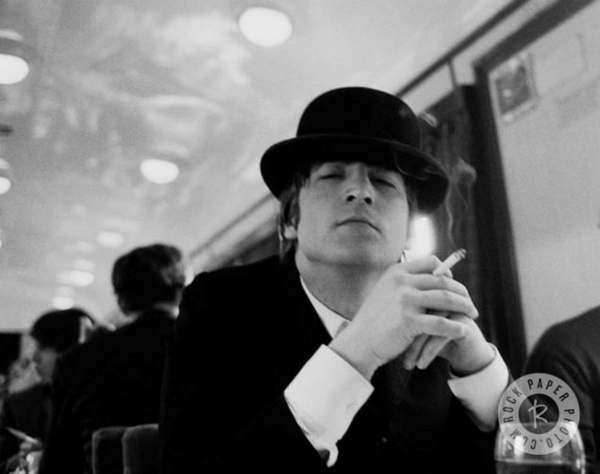 John Lennon <span class=meta>(Photo by Astrid Kirchherr Courtesy of Rock Paper Photo)</span>