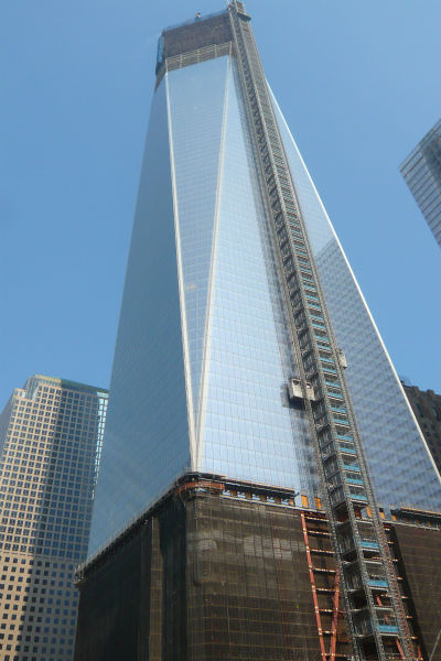 "<div class=""meta ""><span class=""caption-text "">By this time next year, Four World Trade Center will rise to 72 stories, or 977 feet. As tall as that is, the other towers in the master plan are designed to be even taller.  (WABC Photo/ NJ Burkett)</span></div>"