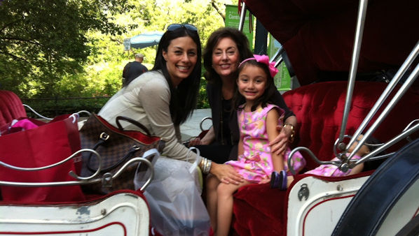 Eyewitness News anchor Liz Cho with her mother and daughter.