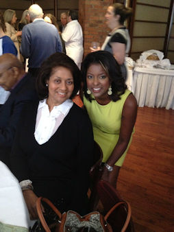 Eyewitness News anchor Lori Stokes and her mother.