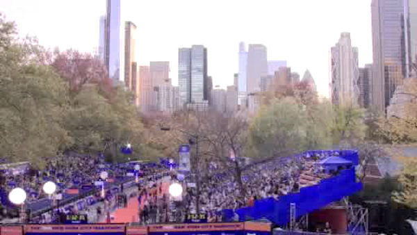 "<div class=""meta ""><span class=""caption-text "">""Marathon Weekend"" kicked off Friday night with an Opening Ceremony. (WABC Photo/ WABC)</span></div>"