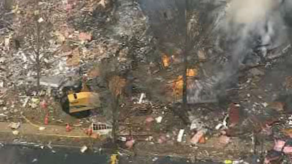 "<div class=""meta ""><span class=""caption-text "">An explosion rocked a neighborhood in Ewing Township, NJ just before 1 p.m</span></div>"