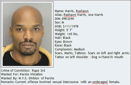 If you have information about this individual, contact DOCCS Bureau of Special Services at 212-239-6159. This individual is considered armed and dangerous. Do not attempt to apprehend or detain this individual yourself. <span class=meta>(Photo&#47; New York State Department of Corrections and Community Supervision)</span>