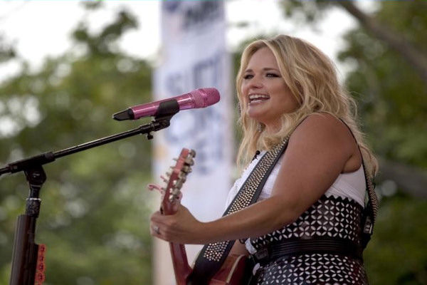 GOOD MORNING AMERICA - Country star Miranda Lambert performs as part of the GMA Summer Concert Series, on GOOD MORNING AMERICA, 7/8/11, airing on the ABC Television Network. (ABC/FRED LEE)