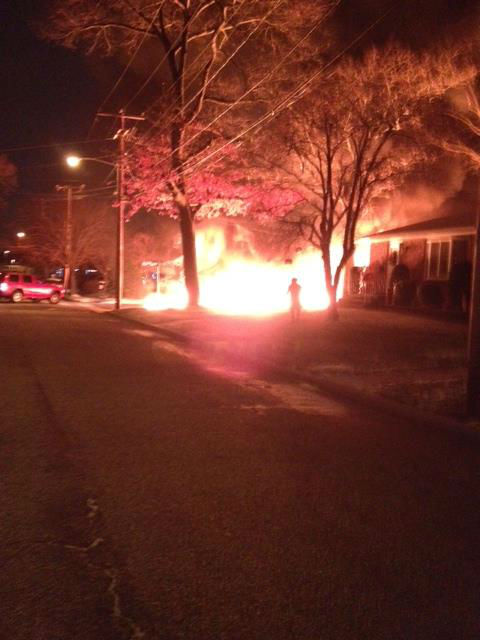 Sent in by viewer Danielle Pugh, who lives on Clinton Street in Bellmore