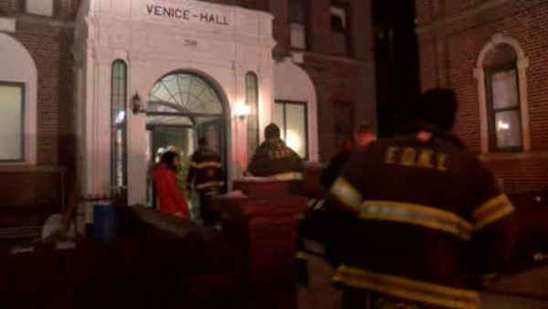An elderly woman was killed and several other people injured when a fire swept through an apartment building in Brighton Beach Brooklyn early Saturday morning.