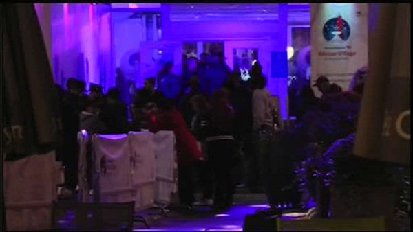 Two people were shot and wounded late Saturday night at the ice skating rink at Bryant Park in Midtown Manhattan.