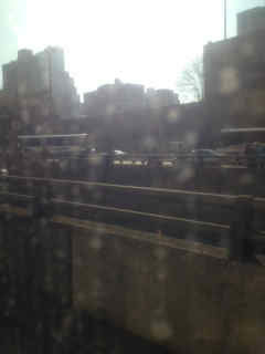 Our Sr. Producer got stuck on a New Jersey Transit bus in the Lincoln Tunnel after a bus crash caused serious delays.