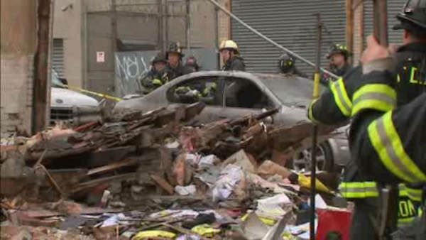 "<div class=""meta image-caption""><div class=""origin-logo origin-image ""><span></span></div><span class=""caption-text"">A father and son were seriously injured Wednesday morning in an explosion and collapse of a building they were working in next to a Bronx auto body shop.</span></div>"