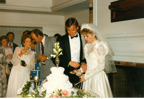 Eyewitness News anchor Diana Williams on her wedding day.