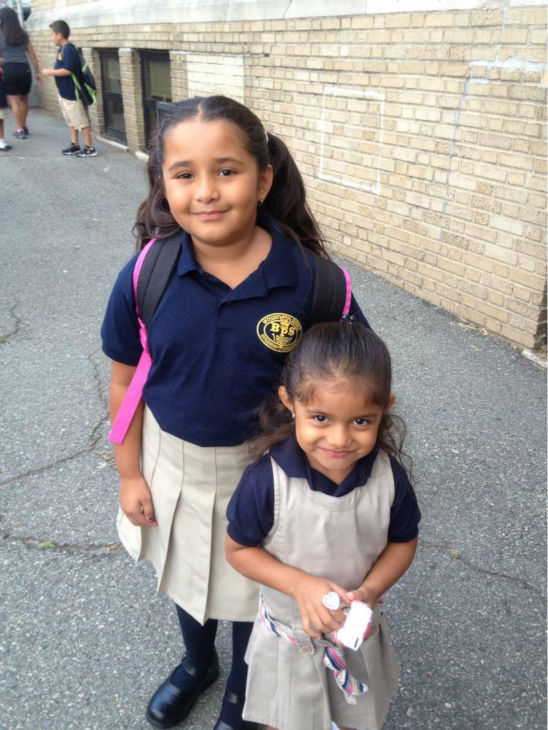 "<div class=""meta ""><span class=""caption-text "">Emily and Sammy, sent in by Maritza Rivera</span></div>"
