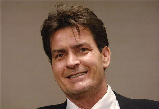 "<div class=""meta image-caption""><div class=""origin-logo origin-image ""><span></span></div><span class=""caption-text"">**FILE** Charlie Sheen attends a benefit  at the Beverly Hilton Hotel on Oct. 14, 2006 in Beverly Hills, Calif.   His bride-to-be is Brooke Mueller, a real estate investor, Sheen's spokesman, Stan Rosenfield, said Thursday, July 12, 2007.  (AP Photo/Phil McCarten) (AP Photo/ PHIL MCCARTEN)</span></div>"
