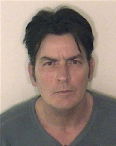 This picture provided by the Aspen Police Department on Friday, Dec. 25, 2009 shows Charlie Sheen. Sheen has been arrested in Aspen, Colo. on charges related to an alleged case of domestic violence. Authorities said Sheen was arrested Friday on charges of second-degree assault as well as menacing, both felonies, and criminal mischief, a misdemeanor. Police said the alleged victim didn&#39;t have to be taken to the hospital but didn&#39;t identify who the victim was. &#40;AP Photo&#47;Aspen Police Department&#41; <span class=meta>(AP Photo&#47; Anonymous)</span>