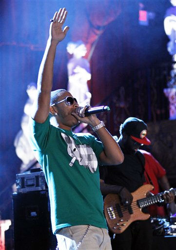 Rapper Ludacris performs during the &#34;Scarface&#34; Legacy Celebration Event in Los Angeles, Tuesday, Aug. 23, 2011. &#34;Scarface&#34; will be released on Blu-ray September 6, 2011.  &#40;AP Photo&#47;Matt Sayles&#41; <span class=meta>(AP Photo&#47; Matt Sayles)</span>