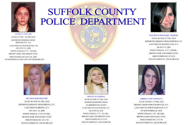 The victims who have been identified so far.