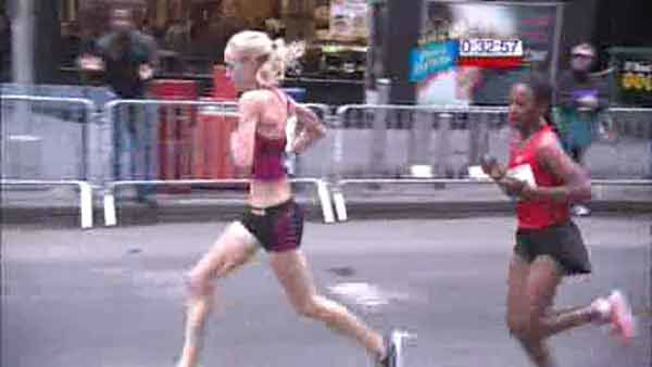 The NYC Half-Marathon was shown on Channel 7 and 7online on Sunday, March 18, 2012.