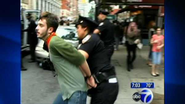 'Occupy Wall Street' protest get violent