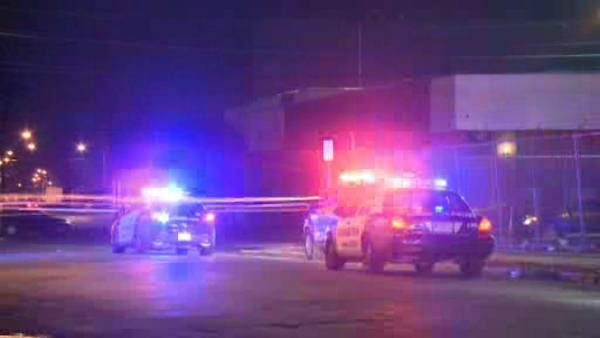 Three people were killed and two others wounded in a shooting early Wednesday morning outside a strip club in Irvington, New Jersey.