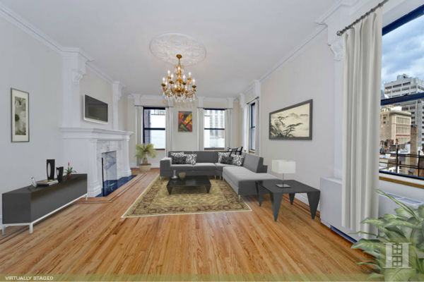 "<div class=""meta ""><span class=""caption-text "">John Mayer's $2.65 million 2-bedroom/2.5 bath duplex at The Abbey Condominium at 205 East 16th Street 5P in Gramercy Park is on the market. See the full description on broker Kathi Jacob's page at Halstead Properties. Photos used with permission.  </span></div>"