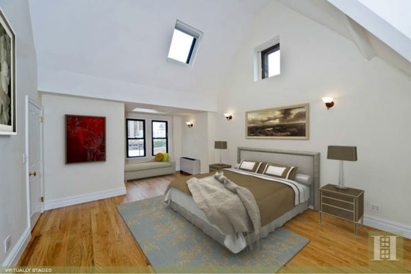 John Mayer's $2.65 million 2-bedroom/2.5 bath duplex at The Abbey Condominium at 205 East 16th Street 5P in Gramercy Park is on the market. See the full description on broker Kathi Jacob's page at Halstead Properties. Photos used with permission.