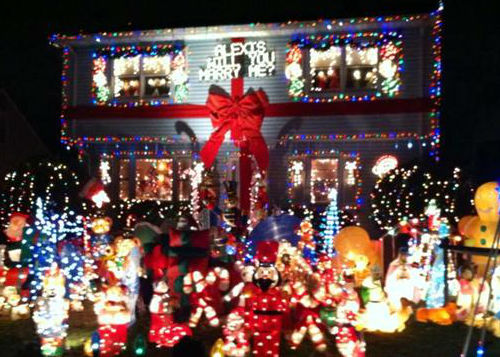 Holiday lights proposal in New Jersey.