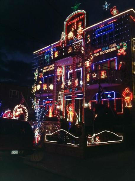 Enjoy these pictures of holiday light displays sent in by Eyewitness News viewers in the tri-state area.