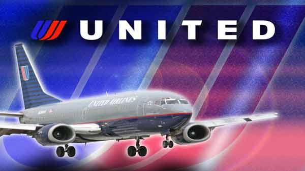 A passenger was escorted of an United Airlines flight after praying and ignoring the crew.