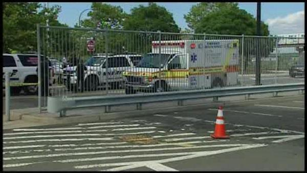 A brief scare at Newark Airport Saturday, after a suspicious package was discovered