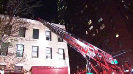 Three people were injured in a fire at a restaurant at 58th St. and 1st Avenue in Manhattan.  Investigators believe it started when a container filled with gasoline spilled in the kitchen.