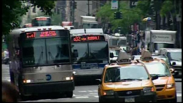 The MTA began providing expanded bus routes Sunday