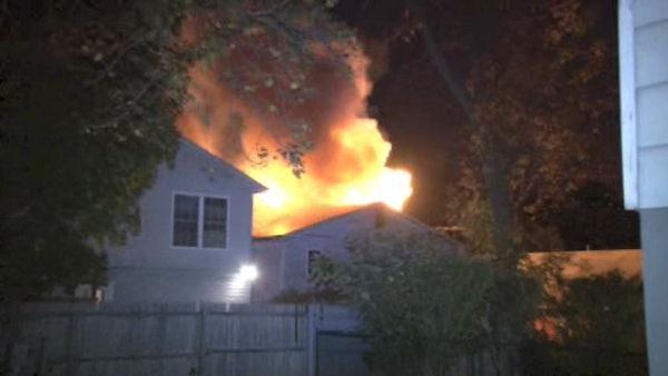 Home in Westchester gutted by three-alarm fire