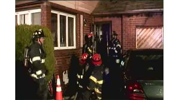 Two people died in a house fire in Massapequa, New York.