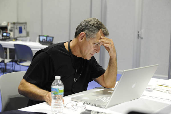 "<div class=""meta ""><span class=""caption-text "">Behind the scenes at the Republican National Convention with Bill Ritter, Dave Evans, producer Seung Suh and photographer Joe Tesauro. (ABC/ IDA MAE ASTUTE)  (ABC Photo/ IDA MAE ASTUTE)</span></div>"