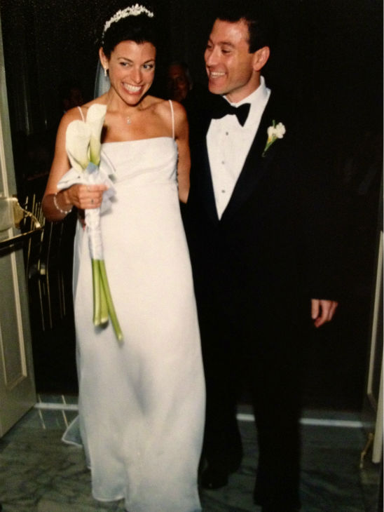 Eyewitness News' own Stacey Sager on her wedding day.