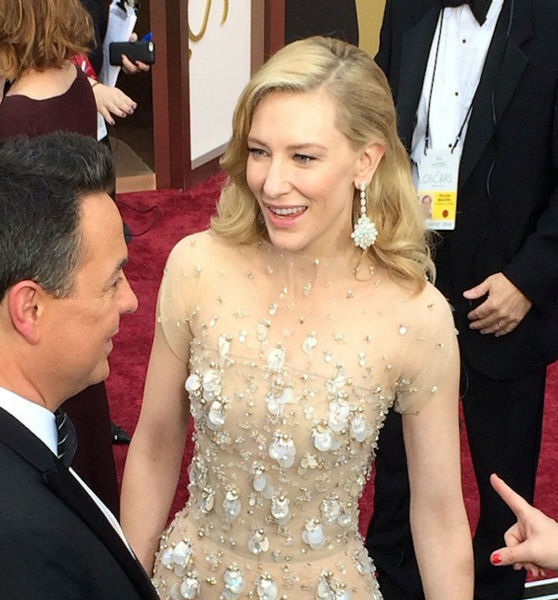 The great Cate Blanchett talks to George Pennacchio from KABC.
