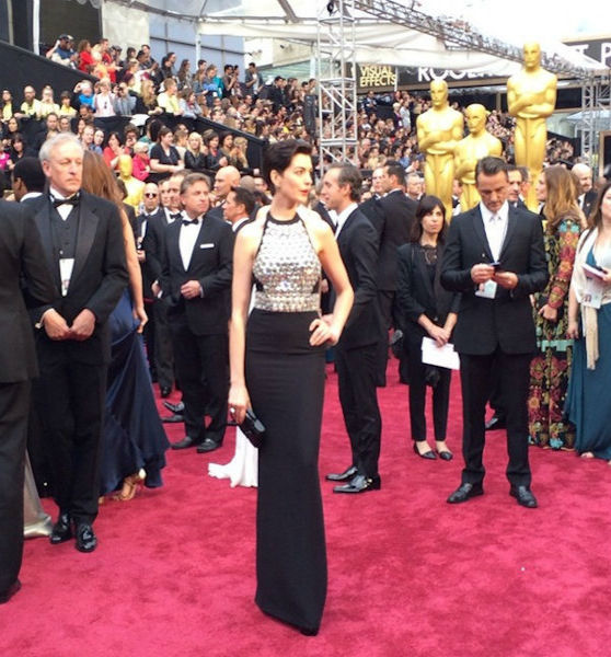Anne Hathaway = the essence of Oscar Glamor!